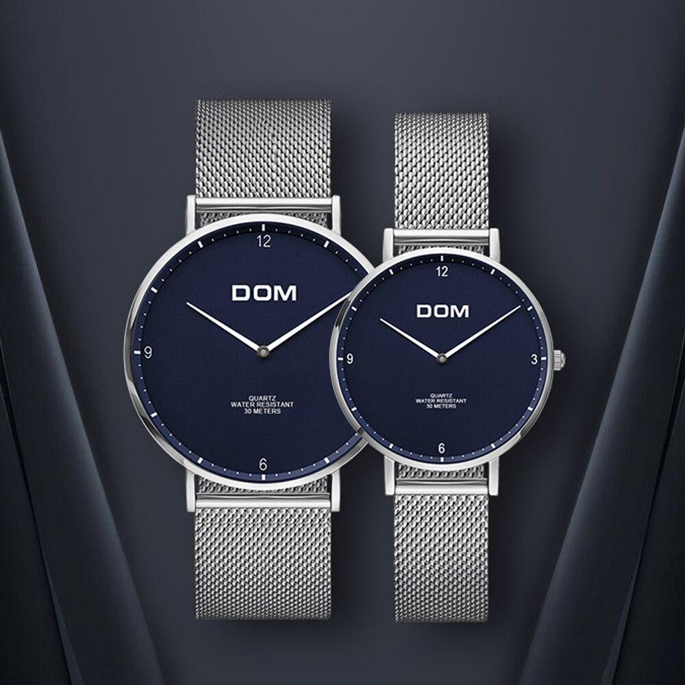 TEENRAM Gift For Lovers Wristwatch Couple Watch Men's Paired Watches Women's Popular Parejas Quartz Sports Clock Fashion Ladies