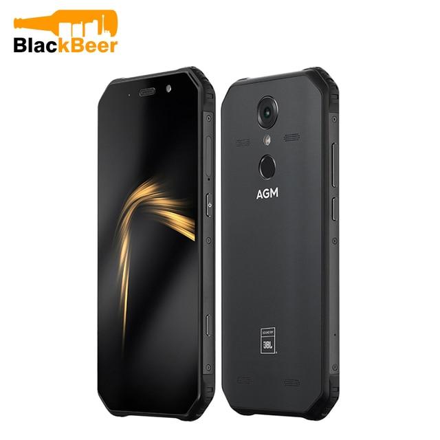 """Agm A9 5.99 """"18:9 Fhd + Cellulare 2160X1080 Octa Core Del Telefono Mobile Robusto IP68 Impermeabile 4 Gb + 32 Gb Smart Phone Id Impronte Digitali Nfc"""