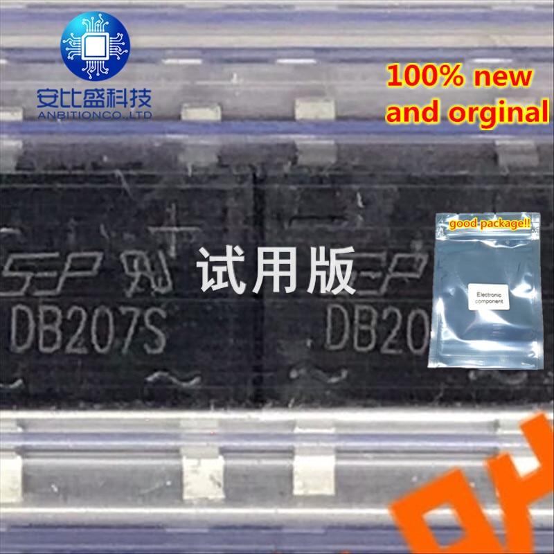 25-50pcs 100% New And Orginal 2A1000v Silk-screen DB207S In Stock