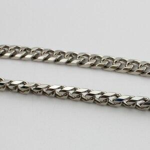 Image 4 - Sangle en métal, 10 mètres, 10mm, 12mm de largeur, haute et épaisse chaîne amovible pour la fabrication de sacs à main, atelier, vente en gros