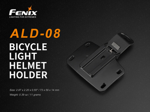Image 1 - Original Fenix ALD 08 bicycle light helmet holder