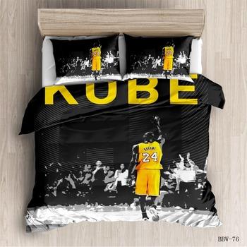 commemorate Basketball superstar Bedding Set  Printed Duvet Cover Set Bed Set Bed Linens Twin Full Queen King