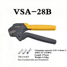 VSA-28B mini ferramentas de friso braçadeira ferramentas de crimper terminais kit