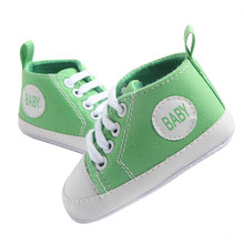 New Classic Canvas Sports Sneakers Newborn Baby Boys Girls First Walkers
