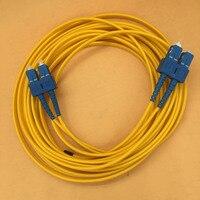 5 pcs zhongye skycolor impressora quadrado cabo de fibra óptica para hoson liyu flora galaxy yinhe sc cabos de dados óticos linha dupla|galaxy printer|cable for|cable data -