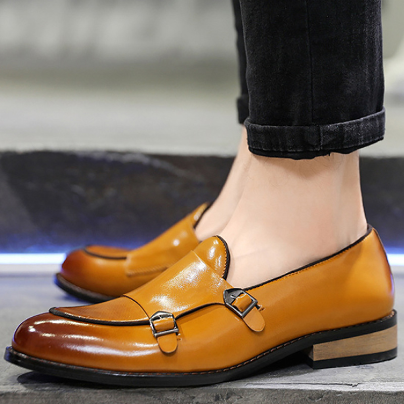 formal shoes men office italian luxury brand mens dress