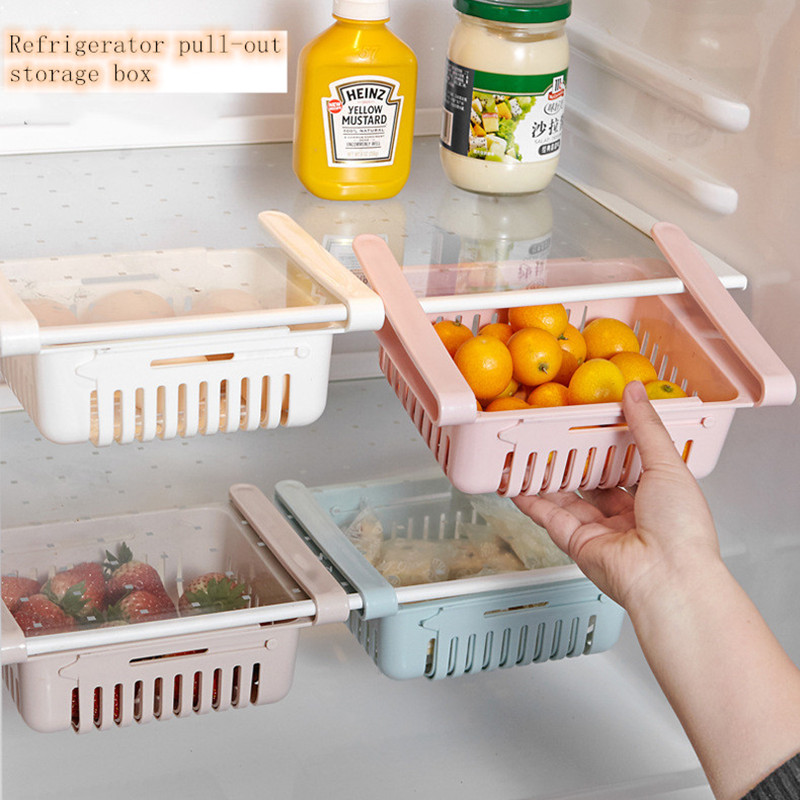 Корзина для фруктов из выдвижной холодильник перегородка многослойный
