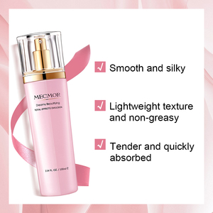 Image 2 - Dreamy Facial Emulsion Face Lotion Multiple Vegeta Essence Extract Moisturizer Skin MECMOR Additive Free Natural Organic 100ml