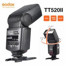 Godox TT520 II Camera Flash with Build-in 433MHz Wireless Signal + Flash Trigger for Canon Nikon Pentax Olympus DSLR Cameras