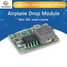 5 pces rc avião módulo mini 360 DC-DC conversor buck step down módulo 4.75v-23v a 1v-17v 17x11x3.8mm mini360 novo lm2596