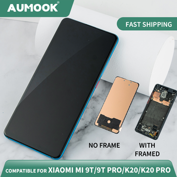 6.39 inch LCD for Xiaomi Mi 9T display touch screen With Frame Digitizer Assembly LCD Replacement for Redmi K20/k20 pro недорого