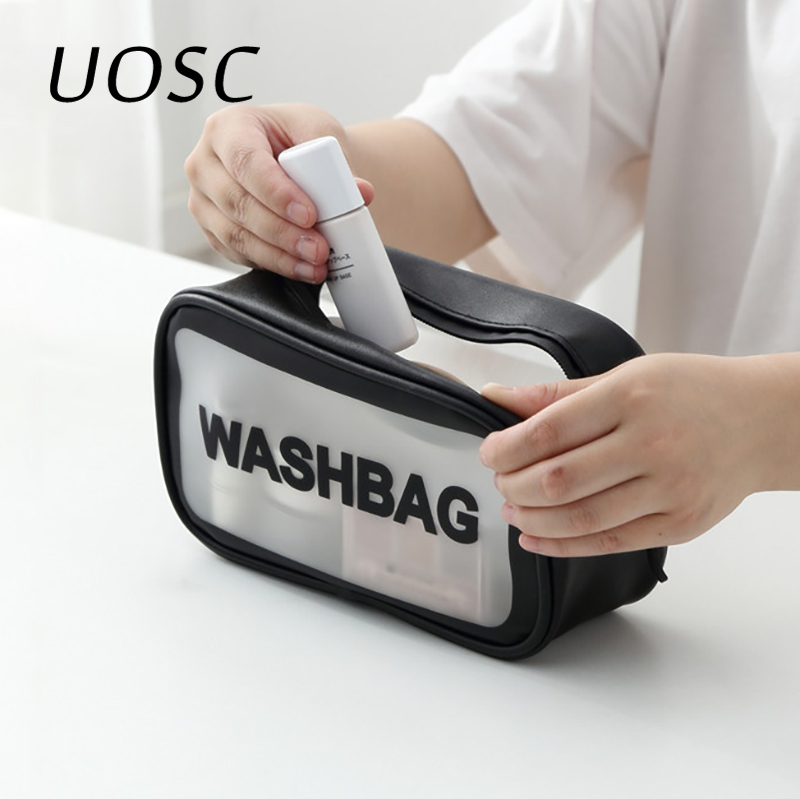 UOSC Travel Makeup Bag Women Men Large Waterproof Toiletries Cosmetic Bag Organizer Case Necessaries Make Up Wash Toiletry Bags