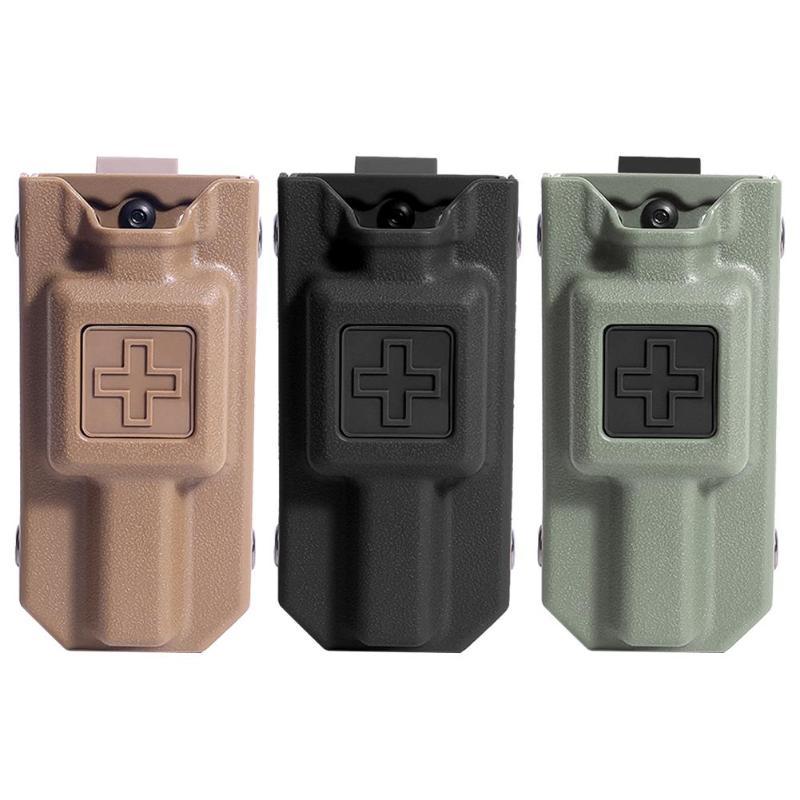 Outdoor Hunting Tourniquet Case MOLLE EM Tourniquet Storage Bag Carrier Pouch Outdoor Tools Storage Bag Box Holder Case