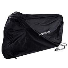 190 トンタフタ黒モーターバイクオートバイカバーダスト水レインプルーフ屋外屋内雨uvプロテクターカバーコートスクーターd20
