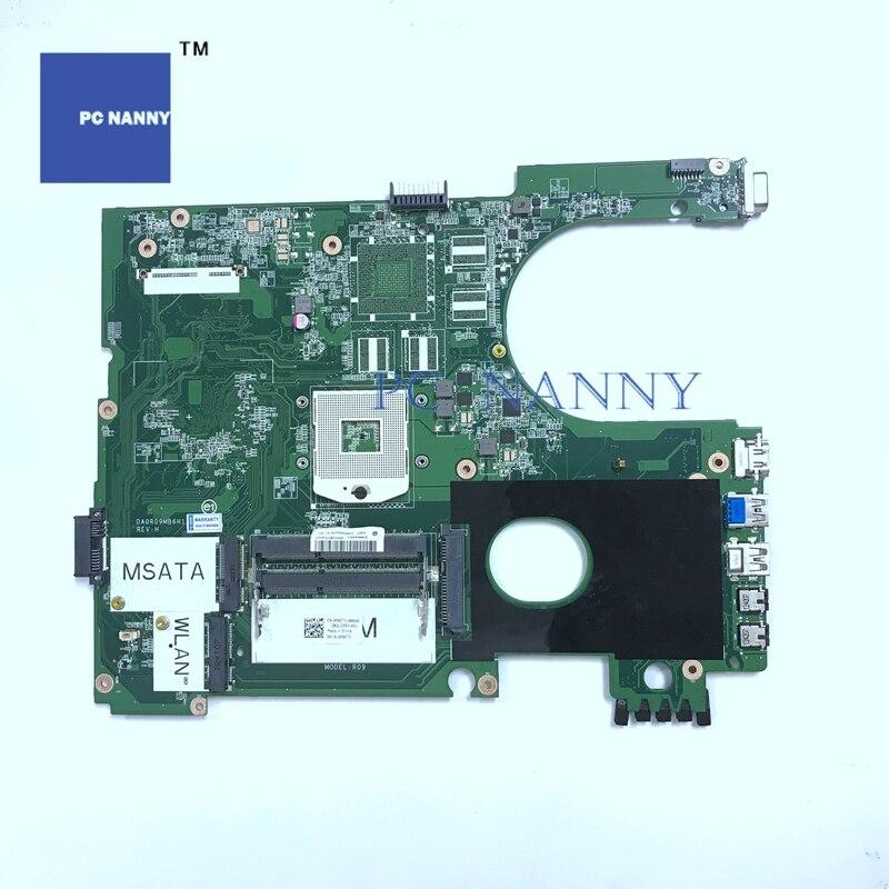 Материнская плата PCNANNY для Dell Inspiron N5720 Материнская плата Intel для ноутбука s989 F9C71 0F9C71 DA0R09MB6H1 HM77