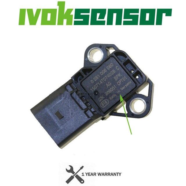 4 バーインテークマニホールドブースト圧mapセンサーdrucksensor vwアウディシートシュコダのため 1.4 2.0 tdi 03K906051 0281006059 0281006060