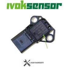 Capteur Drucksensor de carte de pression de poussée de collecteur dadmission de 4 barres pour VW Audi SEAT SKODA 1.4 2.0 TDI 03K906051 0281006059 0281006060