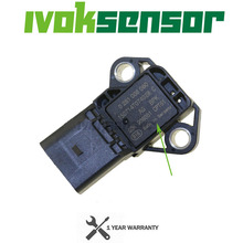 Sensor MAP de presión de sobrealimentación de colector de admisión de 4 BAR, Sensor Drucksensor para VW, Audi, SEAT, SKODA, 1,4, 2,0, TDI, 03K906051, 0281006059, 0281006060