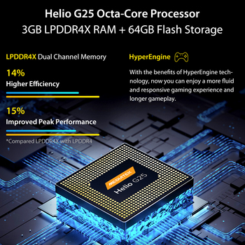 "In Stock UMIDIGI A9 Smart Phone Android 11 Global Version 13MP AI Triple Camera Helio G25 Octa Core 6.53"" HD+ 5150mAh Cellphone 4"
