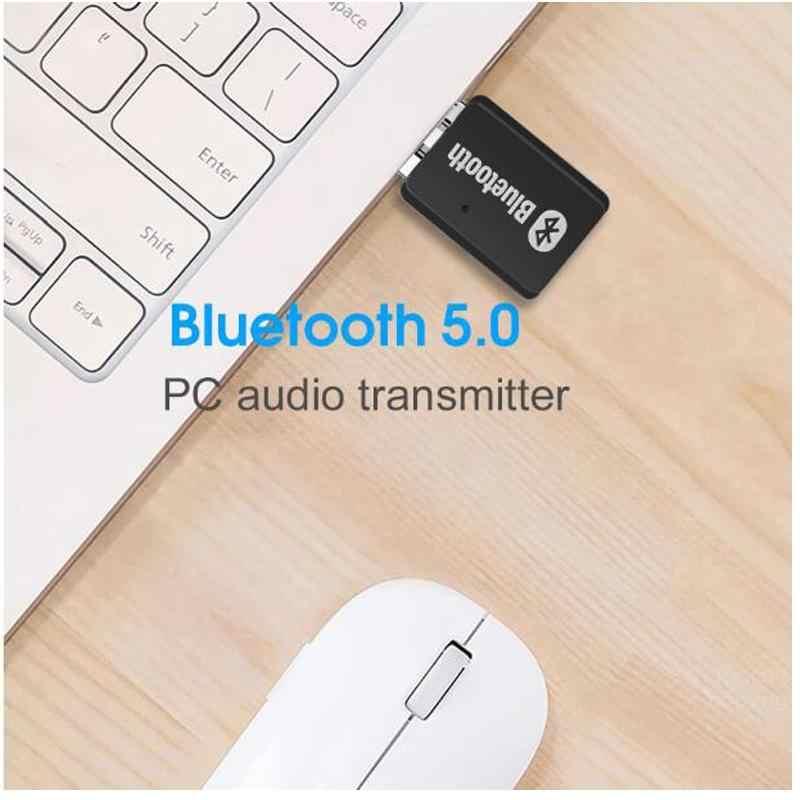 ПК Музыкальный беспроводной передатчик аудио USB bluetooth передатчик 5,0 bluetooth адаптер BT5.0 EDR AD2P для динамика приемник с гарнитурой