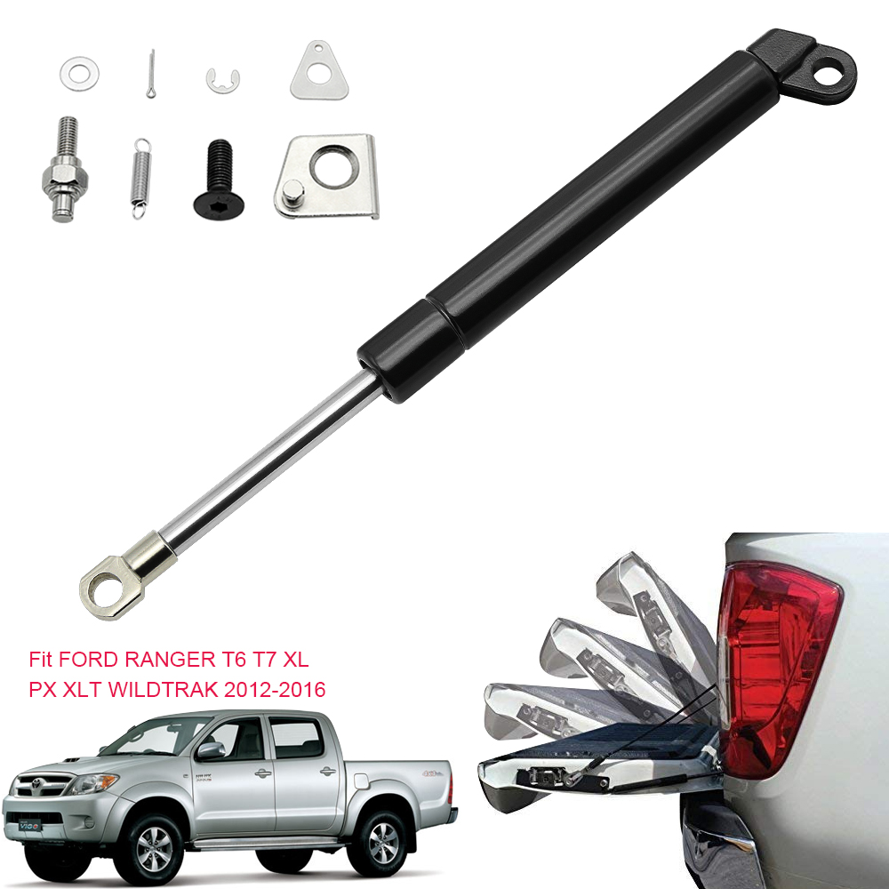 Car Rear Boot Tailgate Gas Spring Struts Lift Support Struts Shock Spring For FORD Ranger T6 T7 XL 2012-2016