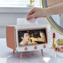Новый домашний офис Настольный бумажная салфетка коробка ТВ