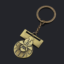 Star Wars The Rise of Skywalker Imperial Princess leia necklace Keychain Jewelry