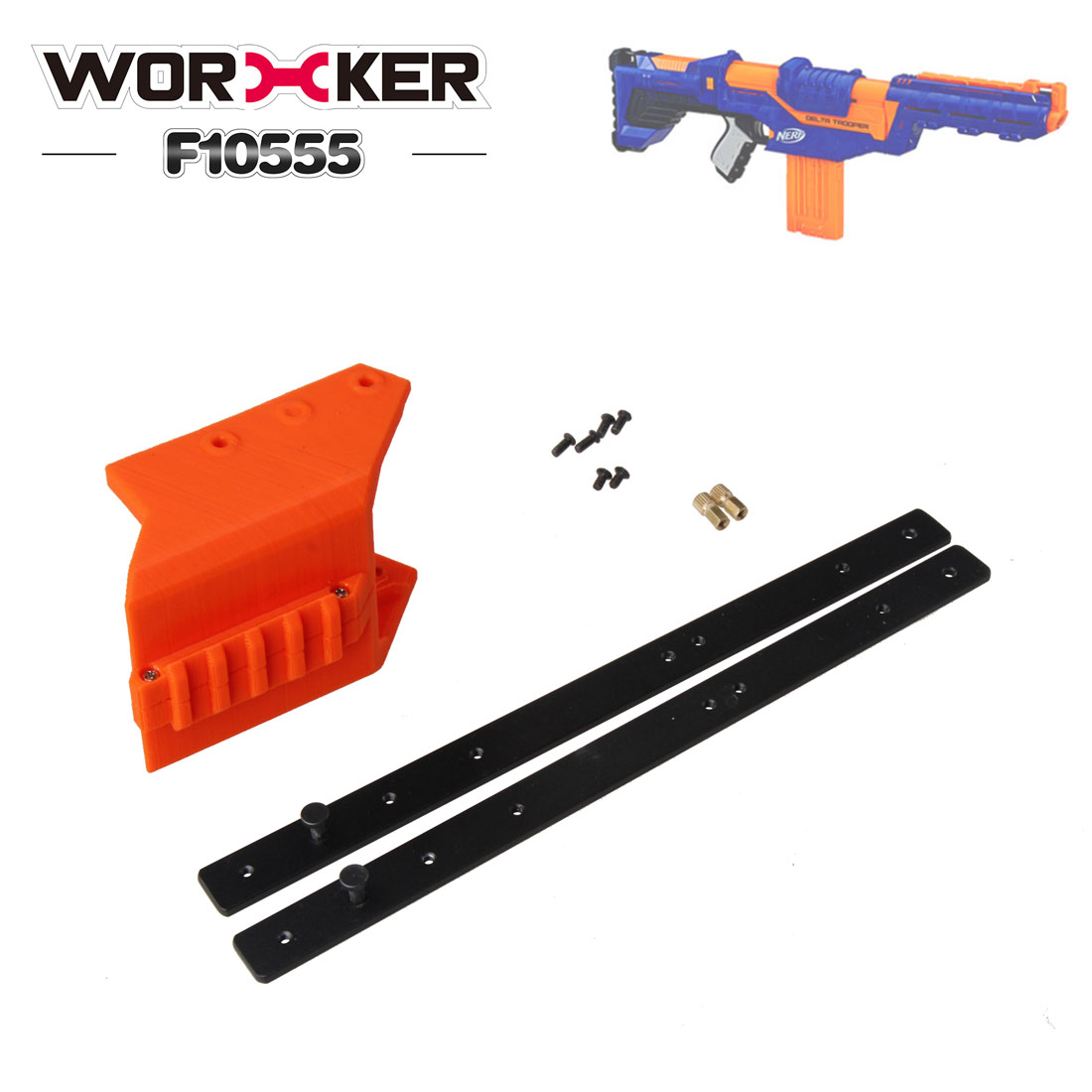 Glow 100pcs 7.2cm Refill Bullet Darts for Nerf N-strike Elite Series toy Gun LS