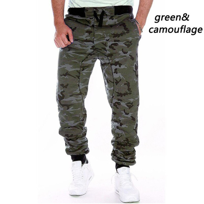 ZOGAA Men Camouflage Pants Spring Autumn Sweatpants Trousers Meale Casual Loose Drawstring Joggers Large Size Top Quality Pants
