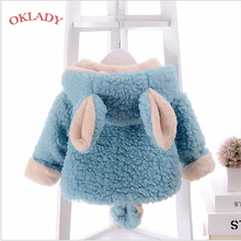 OKLADY Newborn Baby Winter Clothes Coat 6M Toddler Girl Tops Fall Kid Parka Boy Infant Warm Cotton Hoodies 2T 3T