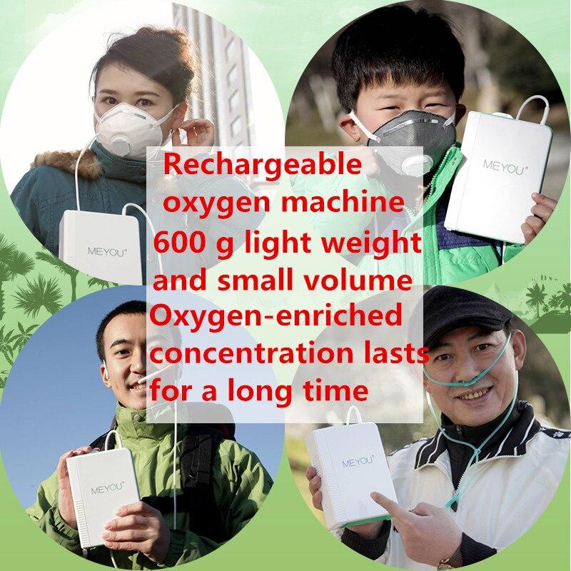 Przenośny koncentrator tlenu z akumulatorem do ładowania DC12V Travel użyj generatora O2 do wspinaczki na zewnątrz maszyna do robienia tlenu