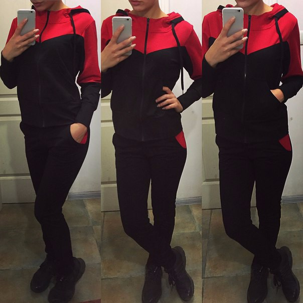 2019 Europe And America WOMEN'S Dress Hot Selling New Style Fashion Joint Casual Sports Hooded Set