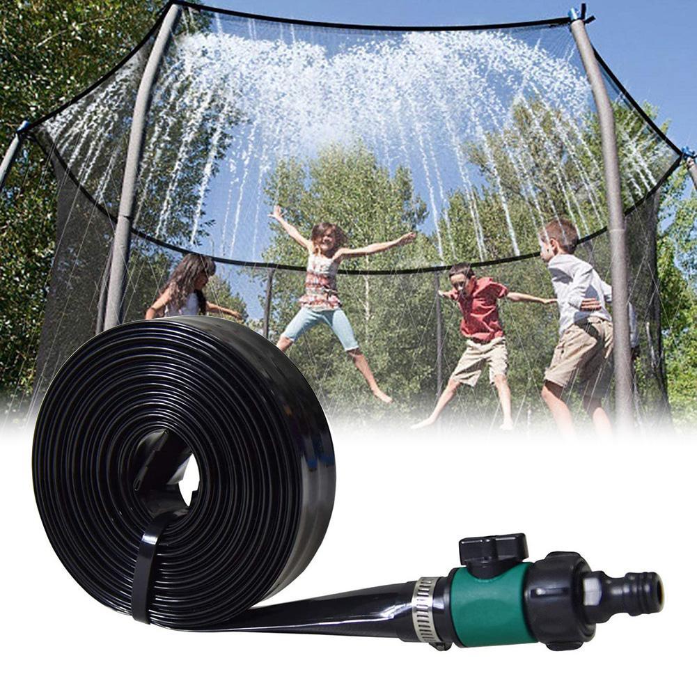 8/10/12/15/20m Kids Trampoline Sprinkler Outdoor Water Park Mist Cooling Kit  Misting Cooling Water Game