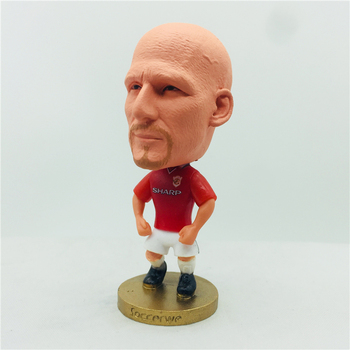 2.55 6.5cm Height Soccer Doll Jaap Stam Figures Red Kit Toy christmas ornaments Dolls Gift Season 99 image