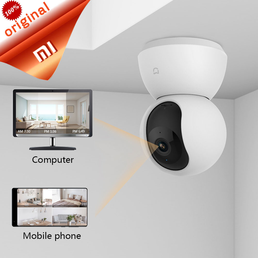 Xiaomi Mijia Smart Cam Cradle Head Version 1080P HD 360 Degree Night Vision Webcam IP Cam