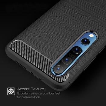For Xiaomi Mi 10 Mi10 Case Carbon Fiber Cover Shockproof Case For Xiaomi Mi 10 Pro Mi Note 10 Lite CC9 Bumper Durable Shell