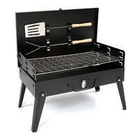 Manufacturers Direct Selling Outdoor Folding Oven Box Barbecue Grills Hand Box Type Portable Stove Charcoal Oven Hot Selling