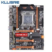 Placa mãe kllisre x79, placa mãe lga2011 m atx usb2.0, pci e nvme m.2 ssd suporte reg memória ecc e xeon e5 processador