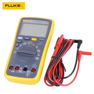 Image 4 - Автоматический цифровой мультиметр Fluke 15B +/17B +/18B +/12E + Plus, DMM AC/DC/диод/R/C, тестер тока