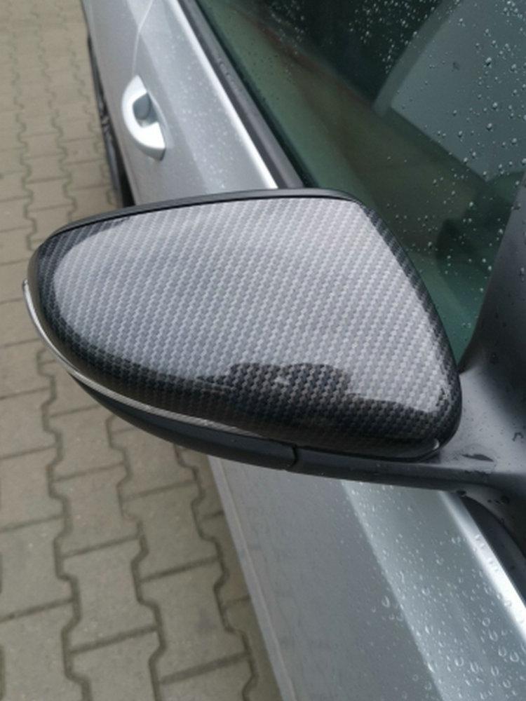Chrome Wing SIDE MIRROR COVERS CAPS pour VW Volkswagen Crafter à partir de 2017