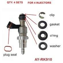 4 комплекта в партии для Toyota Avensis RAV4 Ора 1AZFSE 2325028030 2320928030 23250 28070 23250-28090 топливный фильтр грубой очистки(AY-RK910