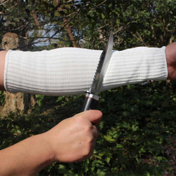 Outdoor Work Safety Arm Guard Sleeve Anti-cutting Protective Cut-resistant P4W2