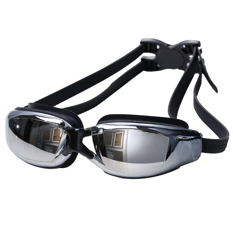 Anti-Fog Swim Goggles Swimming Glasses Adjustable UV Protection Children/Kids Adult Swimming Goggles Eyeglasses