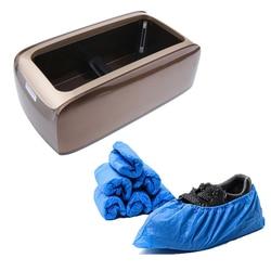 Dispensador automático de cubrezapatos con 100x cubiertas para zapatos puede mantener su piso limpio y uso neto en la puerta conveniente