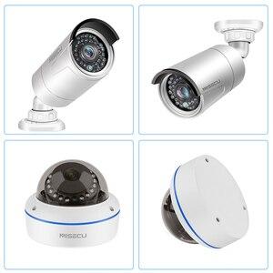Image 5 - MISECU Kit de vidéosurveillance POE 8CH 1080P, Kit de vidéosurveillance dintérieur, enregistrement Audio dintérieur, caméra IP, étanche P2P