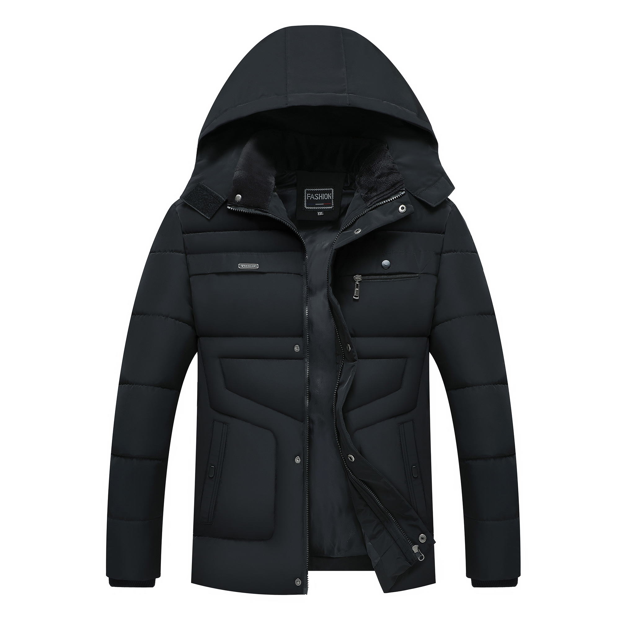 Winter Jacket Men New Parka Coat Men's Hooded Warm Jacket Cold Casual Parks Thickening Outwear Fashion High Quality New ,GA507
