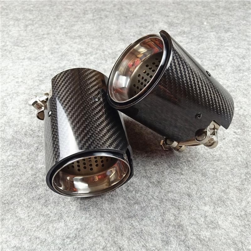 Jeden kawałek M wydajność spaliny węglowe wskazówek dla Bmw F87 M2 F80 M3 F82 F83 M4 M5 M6 M135i M235i M335I M435I wydechowy dysze ogony
