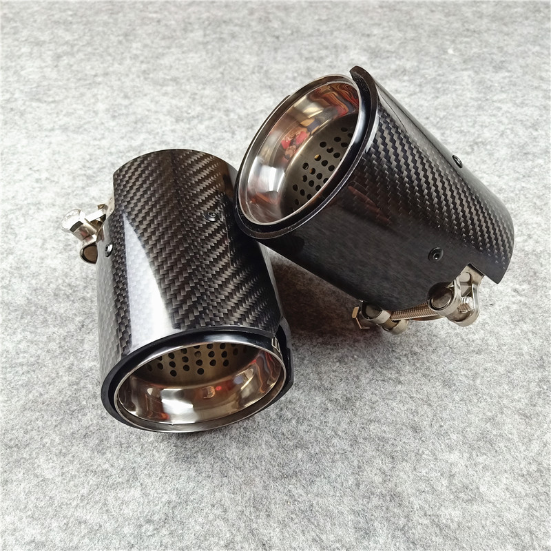 One Piece M Performance Carbon Exhaust Tips For Bmw F87 M2 F80 M3 F82 F83 M4 M5 M6 M135i M235i M335I M435I Exhaust Nozzles Tails