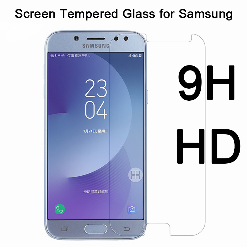 9H HD Protective Glass For Samsung A50 A70 A40 A80 A90 A60 A30 A20 A10 Toughed Screen Protector On Galaxy M40 M30 M20 M10