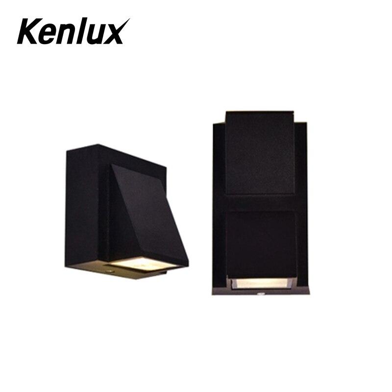 kenlux 5w 10w 90 260v pintado led luz 05